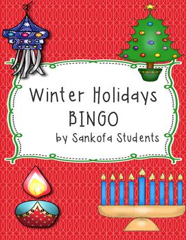 Winter Holidays Bingo