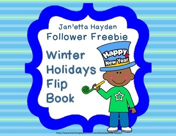 Winter Holidays Flip Book