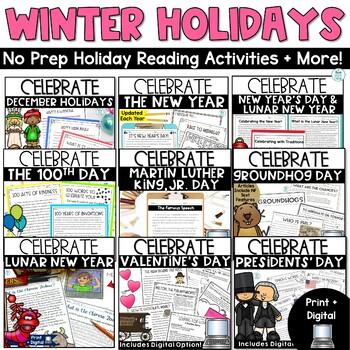 Winter Holidays Non Fiction Bundle