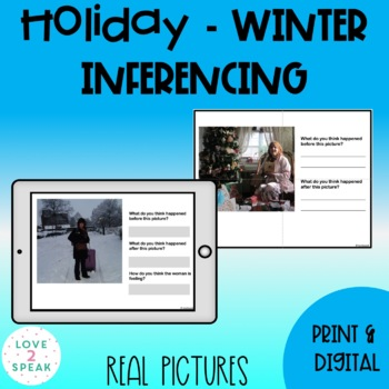 Holiday - Winter Inferencing: What Happened Before and Aft