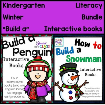 Winter Interactive Easy Readers BUNDLE