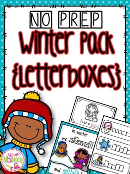 Winter Interactive Reading Pack {NO PREP}