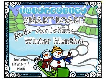 Winter Interactive Smart Board Activities
