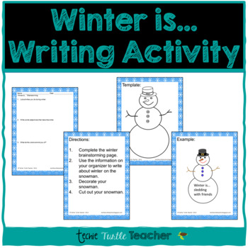 Winter Is... Writing Activity