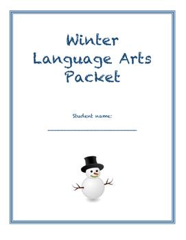 Winter Language Arts Packet