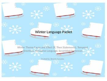 Winter Language Packet
