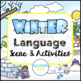 Winter Language Scene