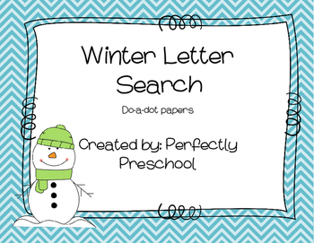 Winter Letter Search