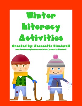 Winter Literacy Activities and Centers