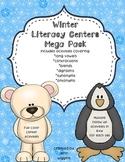 Winter Literacy Centers Mega Pack