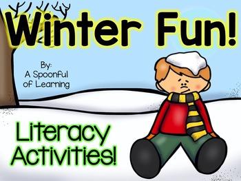Winter Fun! Literacy Activities!