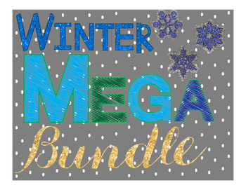 Winter Literacy MEGA bundle