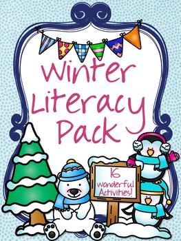 Winter Literacy Pack