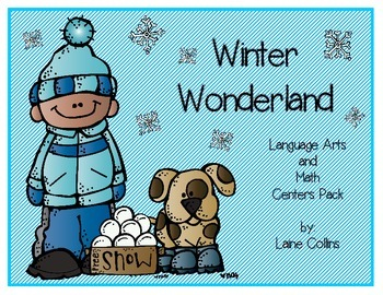 Winter Literacy and Math Centers