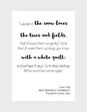 Winter Literary Poster Bundle