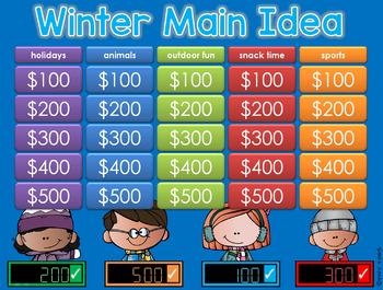 Main Idea Winter