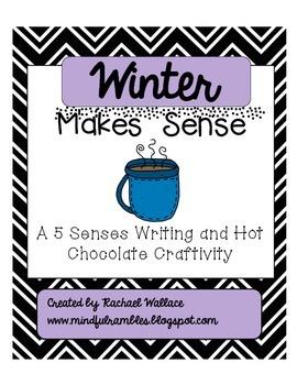 "Winter Makes ""Sense""! Hot Chocolate Craftivity"