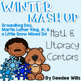 Winter Mash Up  Literacy and Math Stations-CC