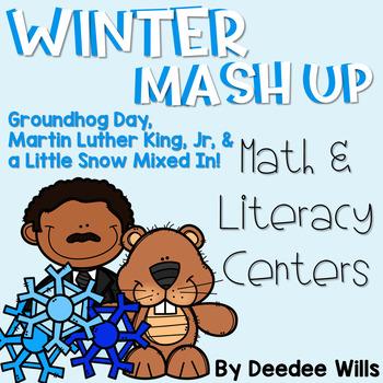 Winter Mash Up  Literacy and Math Stations-CC