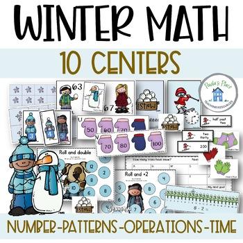 Winter Math - 10 tasks