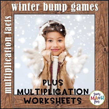 Winter Math Multiplication Games and Printables