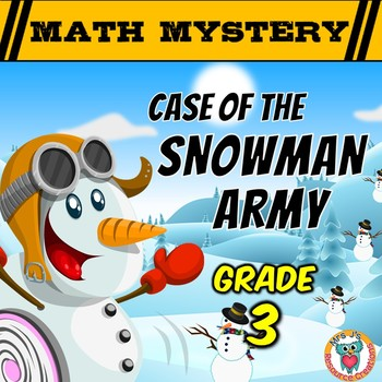 Winter Math Activity: Snowman Army {Grade 3}