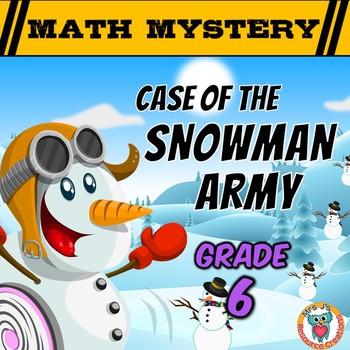 Winter Math Mystery Activity {Fractions, Percents, Integer