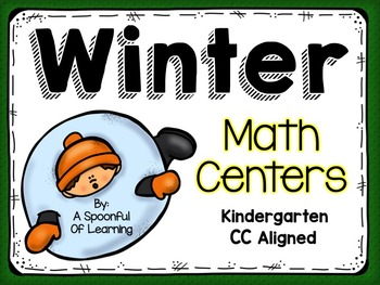 Winter Math Centers! Aligned to the CC