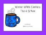 Winter Math Centers - Third Grade