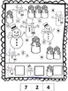 Winter Coloring Pages: Developing Math Skills for Preschoo