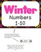 Winter Math File Folders