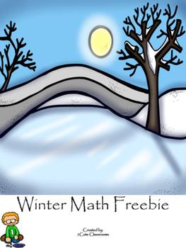 Winter Math Freebie