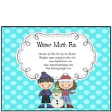 Winter Math Fun