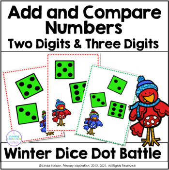 Winter Addition Games Comparing Numbers