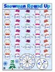 Winter Math Games and Centers Freebie Sampler: Print and P