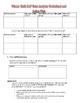 Winter Math MAP Analysis Worksheet for Teachers (Primary)