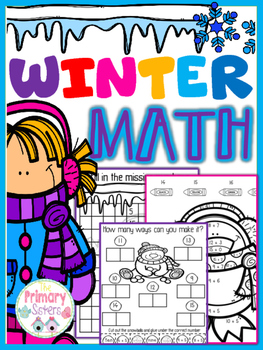 Winter Math No prep
