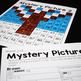 Place Value Mystery Pictures-Winter Theme