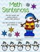 Winter Math Sentences