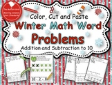 Winter Math Word Problems Pack