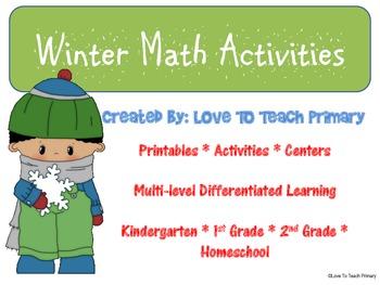 Winter Math FREE