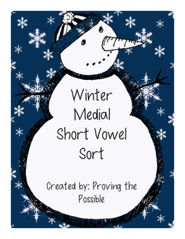 Winter Medial Vowel Sort
