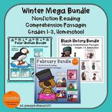 Winter Mega Bundle: Reading Comprehension Passage For Grad