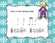 Winter Melodies - A stick to staff notation game for pract