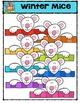 Winter Mice  (P4 Clips Trioriginals Digital Clip Art)