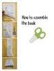 Winter Mini Emergent Readers- Double Sided Printing- Easy