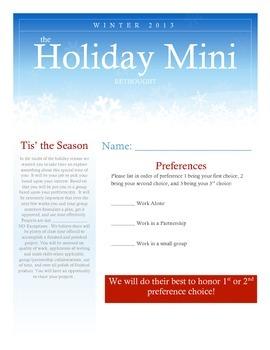 Winter Mini Project(s)