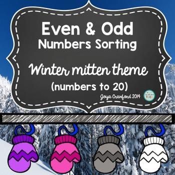 Winter Even and Odd Numbers