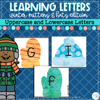 Winter Letter Matching (Upper and Lower Case Letters)
