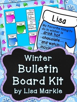 Winter Mittens Bulletin Board Kit